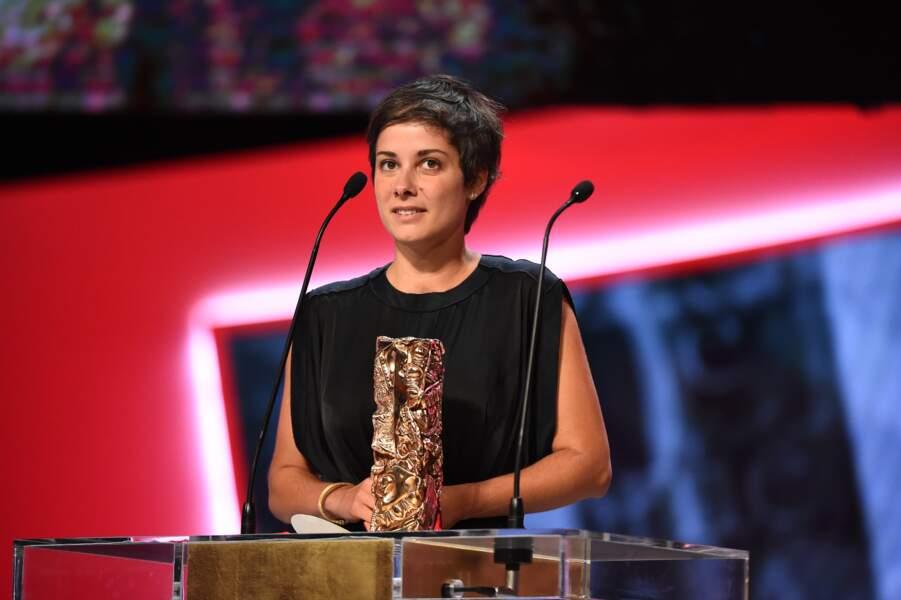 Chloé Mazlo a reçu le César du meilleur court animé pour Les Petits Cailloux