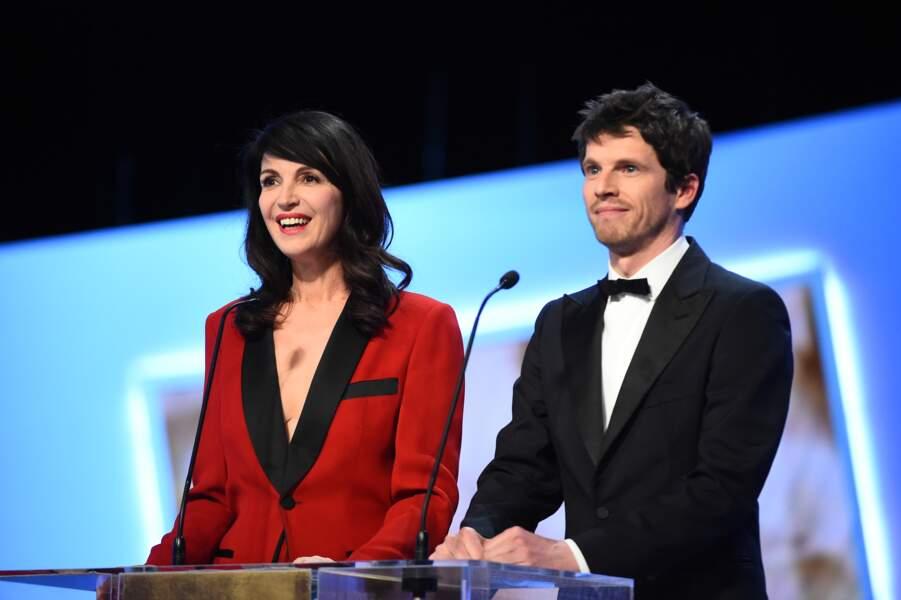 Pierre Deladonchamps a taillé un hilarant costard à Zabou Breitman avant de récompenser le meilleur premier film
