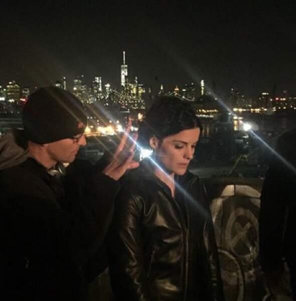 Un tournage de nuit, ça ressemble à ça