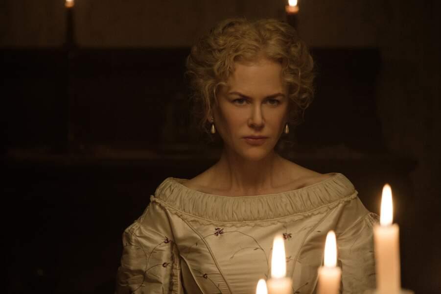 Nicole Kidman, troublante chef d'un pensionnat de jeunes filles dans Les proies de Sofia Coppola (2017)