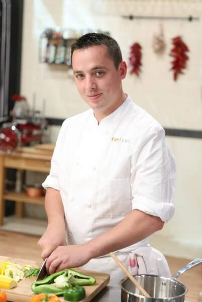 Christophe Pirotais, 28 ans, Saint-Jorioz (74) - chef du restaurant Comptoi du Lac, Hôtel du Clos Marcel