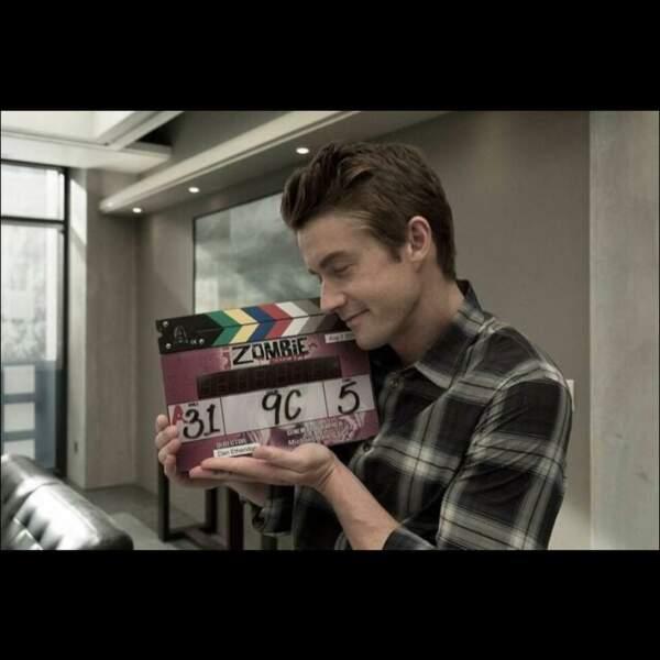L'acteur a dit sur Instagram combien il avait apprécié faire partie de cette série.
