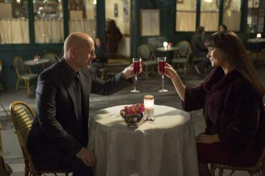 Dîner parisien avec Bruce Willis dans Red 2