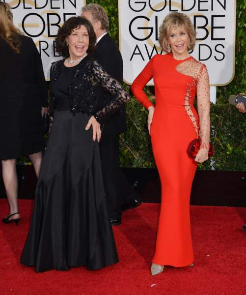 Lilly Tomlin et Jane Fonda, toujours aussi classes