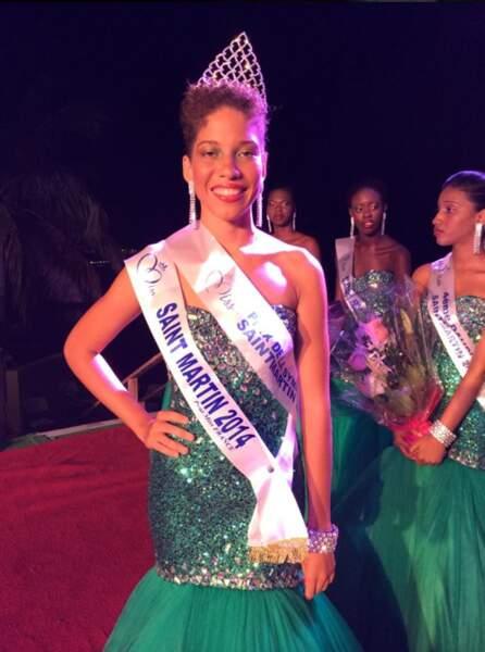 Miss Saint-Martin 2014, Nadika Matthew-Gauthier, 19 ans.