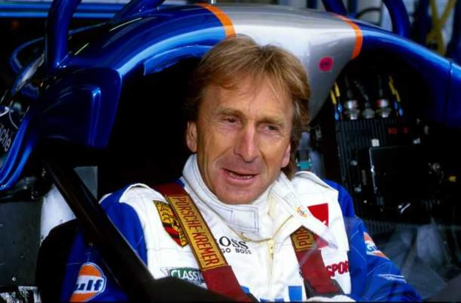 L'Anglais Derek Bell a remporté les 24 heures à 5 reprises