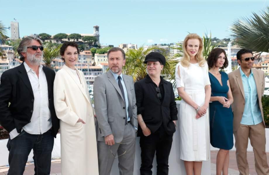 L'équipe du film Grace de Monaco