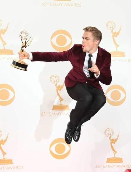 Derek Hough : prix de la meilleure chorégraphie pour Dancing With the Stars