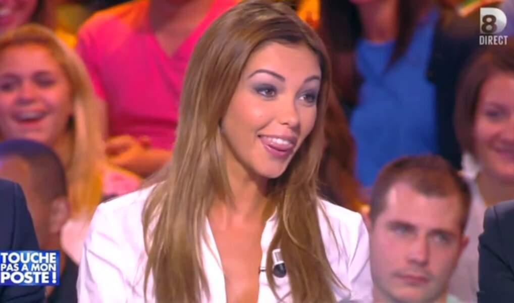 Le 24 septembre, lors de sa première émission en tant que chroniqueuse pour TPMP.