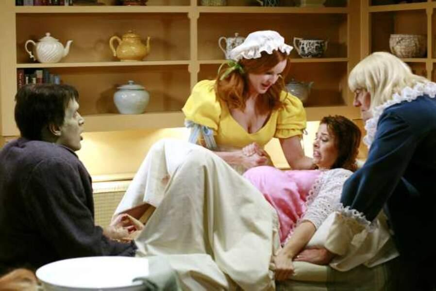 Desperate Housewives - l'accouchement de Danielle