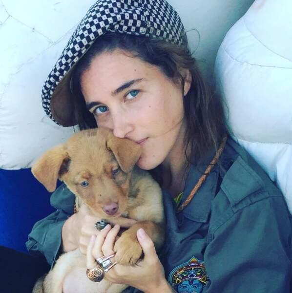 Vahina adore aussi les animaux