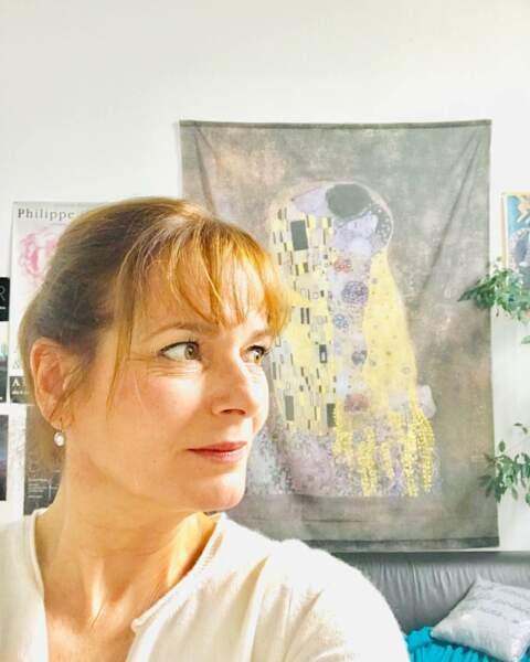 Idem pour Cécilia Hornus, visiblement fan de Klimt