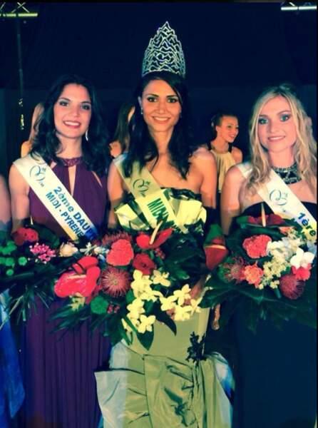 Laura Pelos est Miss Midi-Pyrénées 2014