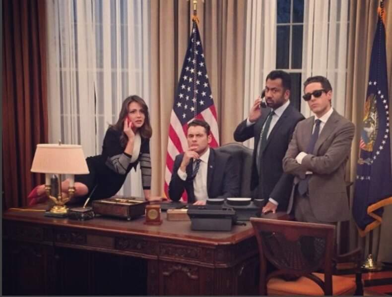 Un Men in Black se serait-il infiltré dans l'équipe du président sur le plateau de Designated Survivor ?