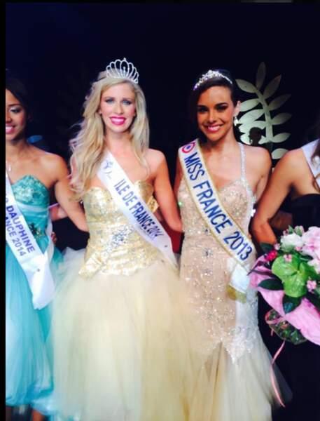 Miss Ile de France 2014 est Margaux Savarit