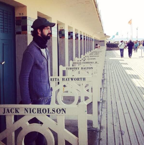 A Deauville, Miguel Angel Munoz a marché dans les pas de Jack Nicholson, son acteur préféré