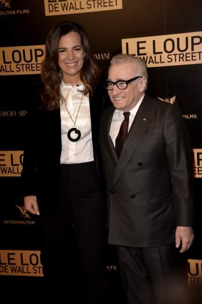 Martin Scorsese et Roberta Armani