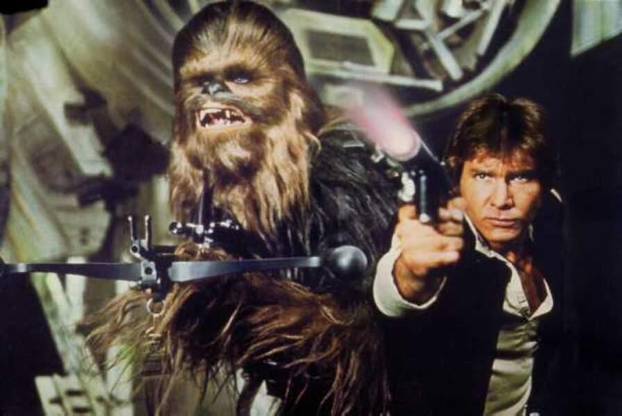 Han Solo et Chewbacca