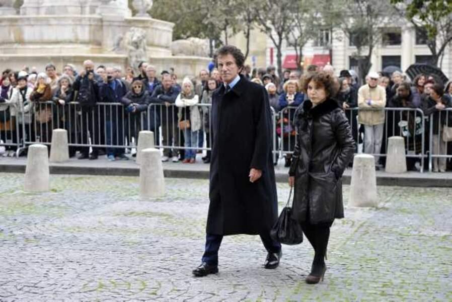 Jack Lang et sa femme