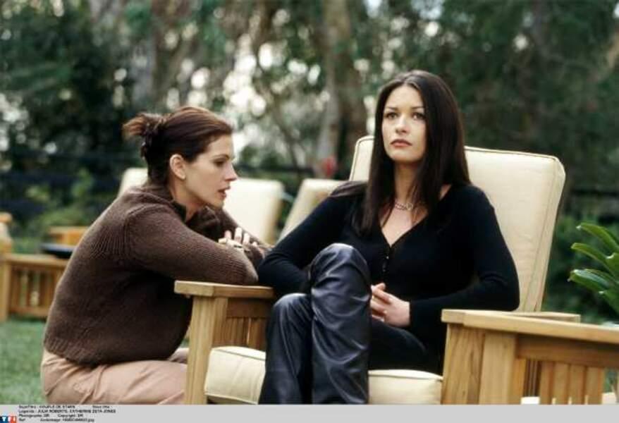 En compagnie de Julia Roberts dans Couple de stars (2001)
