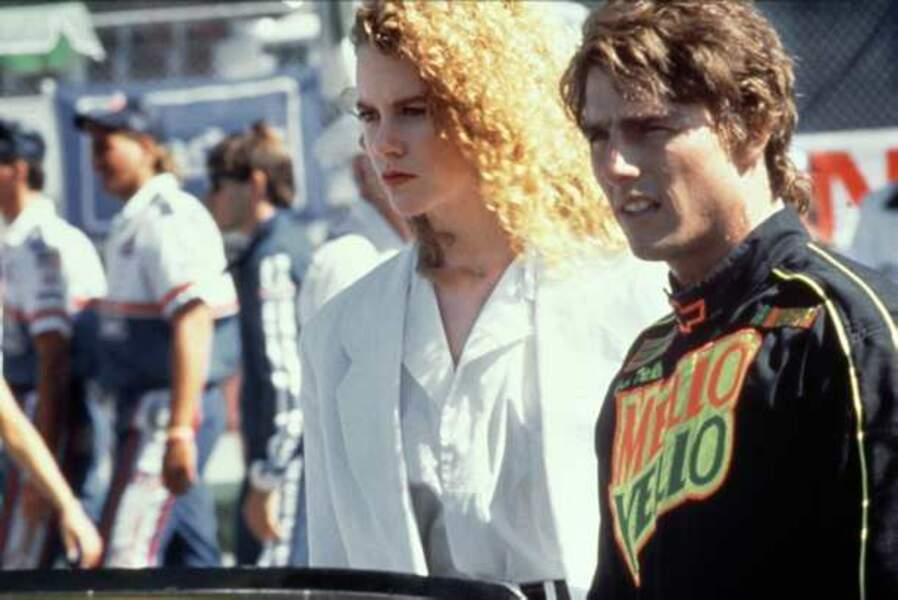 Jours de tonnerre (1990) : c'est sur ce film qu'elle rencontre Tom Cruise, qu'elle épousera.