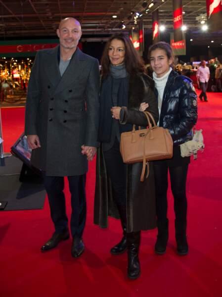 Franck Leboeuf et sa famille