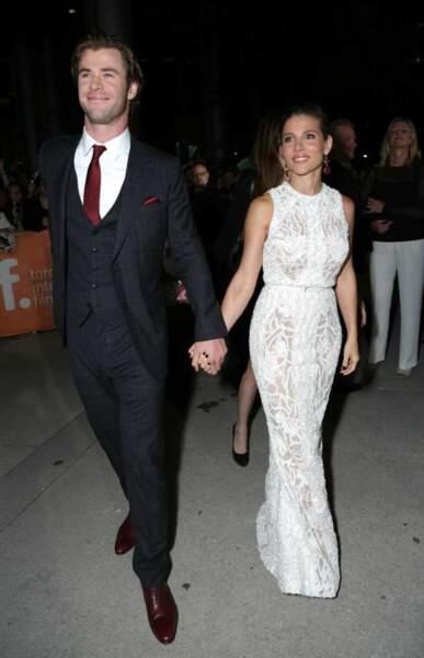 Le couple Chris Hemsworth et Elsa Pataky