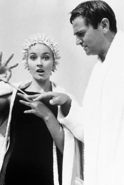 Premier film avec Claude Chabrol en 1964 : Le tigre aime la chair fraiche