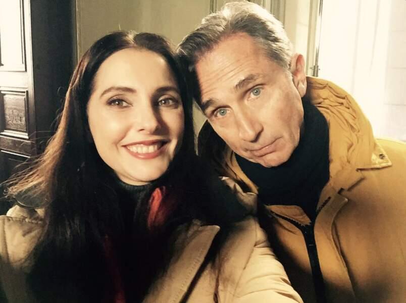 Selfie avec Thierry Lhermitte