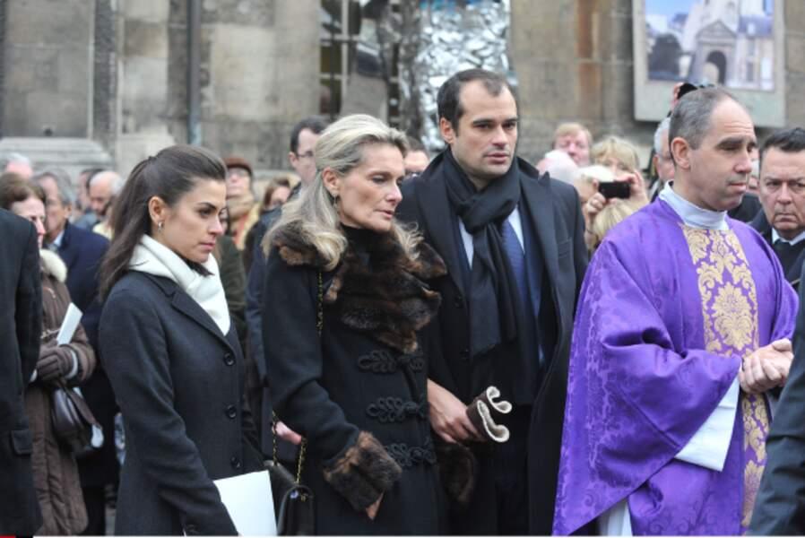 Martine, l'épouse de Jacques Chancel.