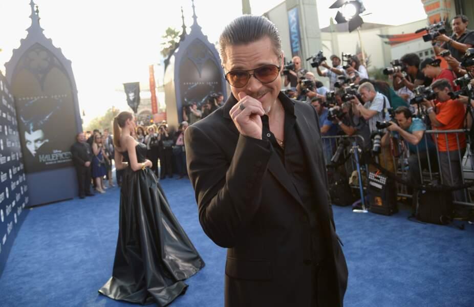 Facétieux, Brad Pitt ?