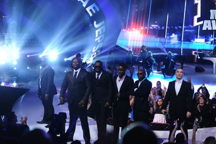 Sexion d'Assaut, vainqueur de la chanson et groupe francophone de l'année