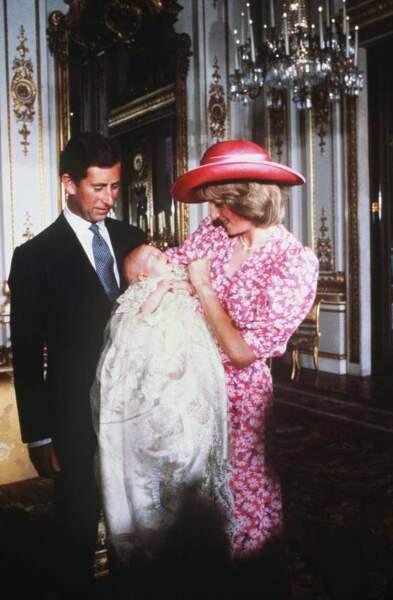 1982 : le baptême de William