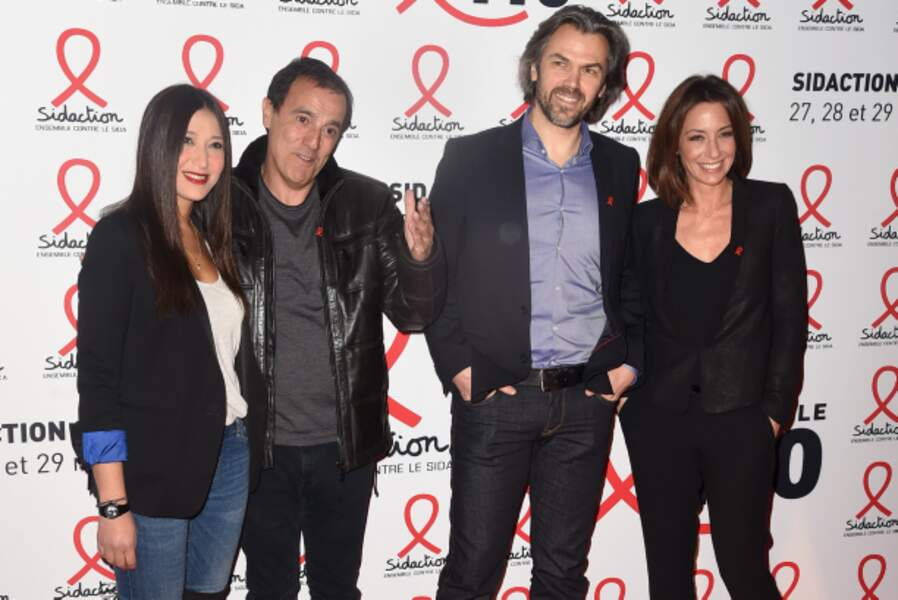 Thierry Beccaro, Aymeric Caron et Virginie Guilhaume (France 2)
