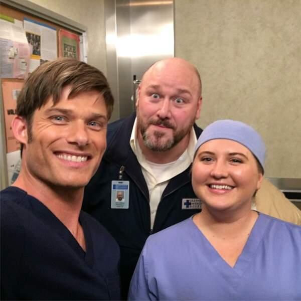 Chris Carmack, le nouveau docteur de Grey's Anatomy, fera-t-il succomber le personnage joué par Ellen Pompeo ?