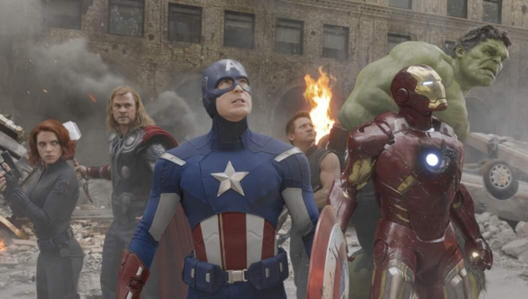 Avengers : 1,5 milliard de dollar de recettes (1,1 milliard d'euros)