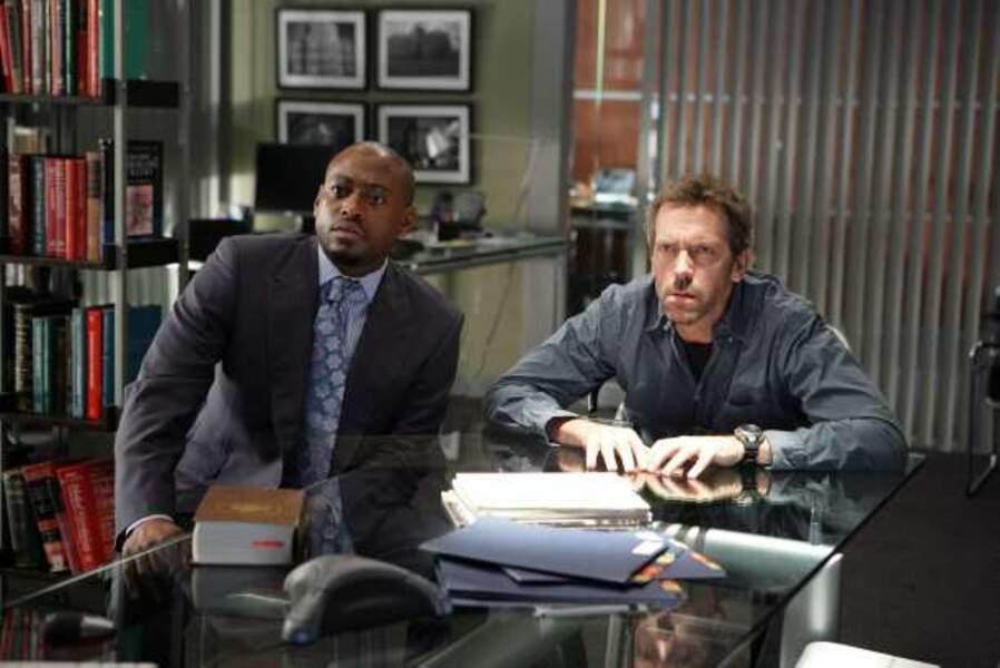 Dr Foreman, qui prendra la place de Cuddy (saison 4)
