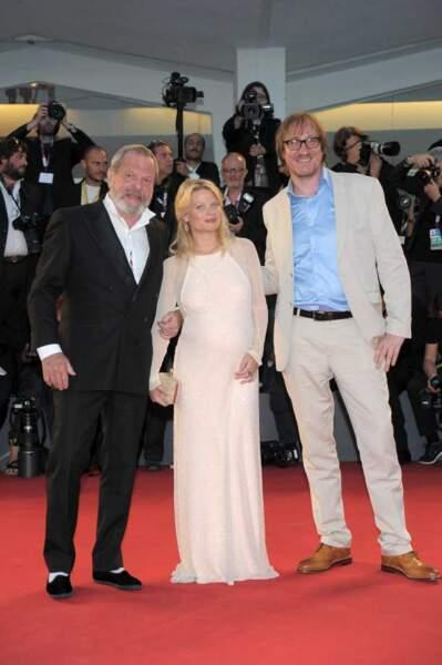 Le trio sur le tapis rouge