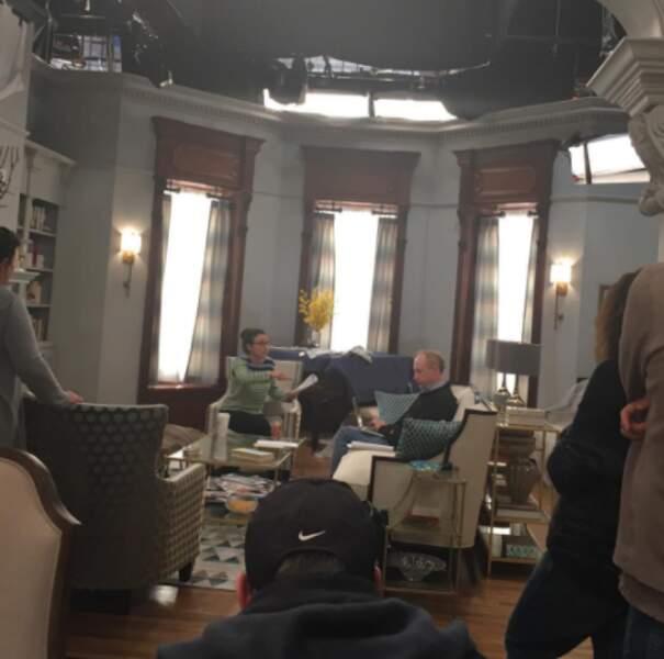 Le tournage de Veep avec Julia Louis-Dreyfus bat son plein