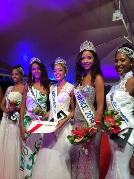 Miss Martinique 2014 est Moëra Michalon.