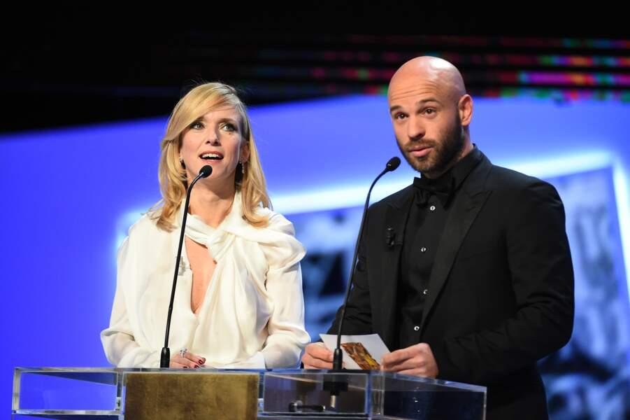 Léa Drucker et Franck Gastambide ont remis le César des meilleurs décors