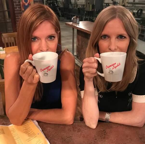 Michelle Stafford et Lauralee Bell jumelles ? La photo laisse planer le doute !