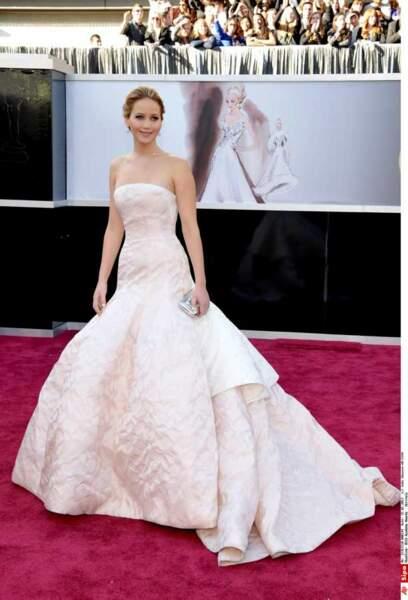 2) Jennifer Lawrence
