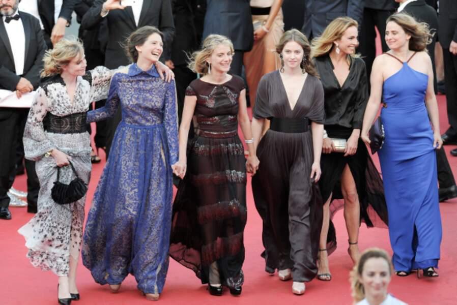 Mélanie Laurent et sa bande de filles : Isabelle Carré, Joséphine Japy, Lou de Laâge, Claire Keim...