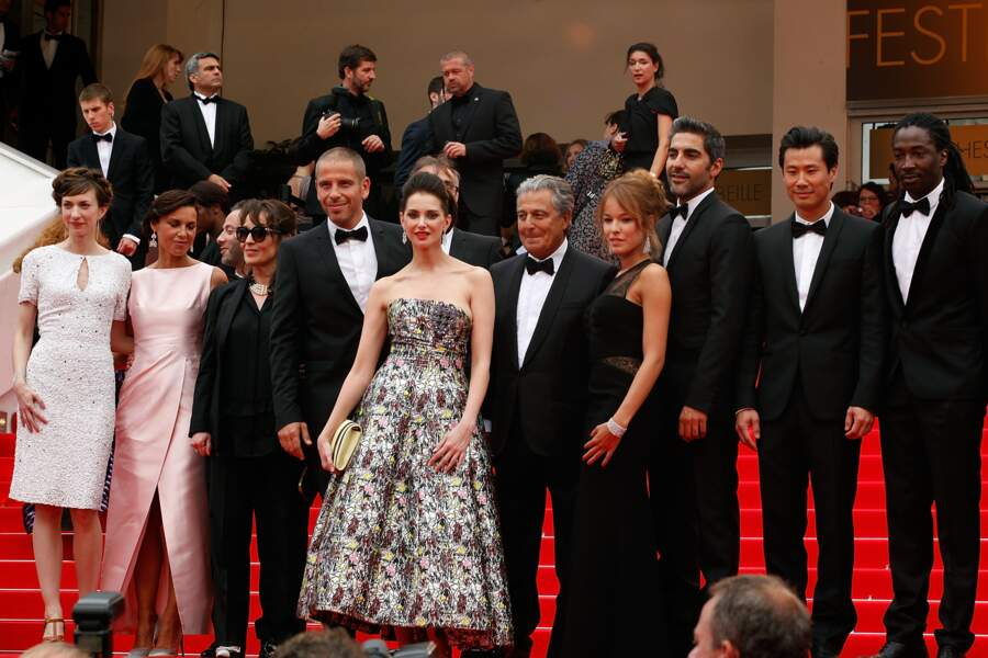 Fière de son succès, l'équipe du film a monté les marches