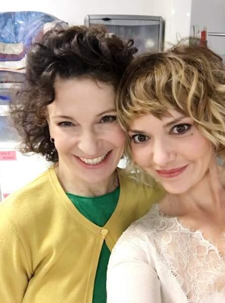 Céline Vitcoq tourne des scènes de Plus belle la vie, même si la rumeur dit qu'il s'agit de ces dernières