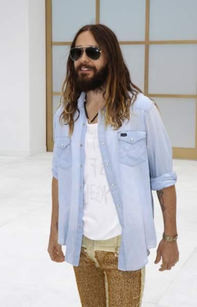 Jared Leto au défilé Chanel