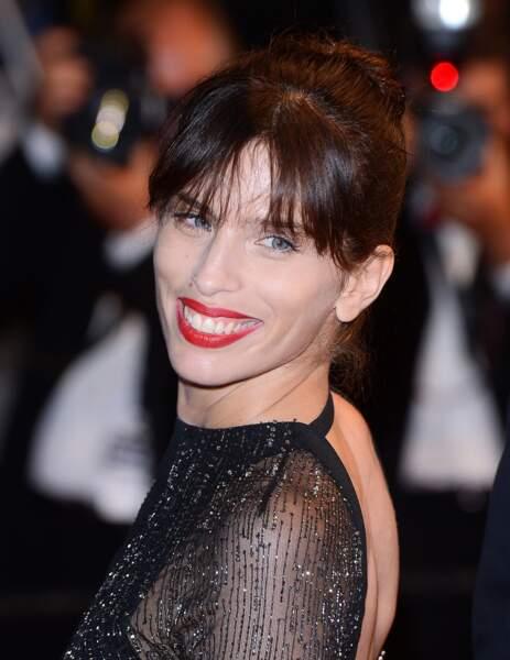 Elle est radieuse sur le tapis rouge, au dernier Festival de Cannes, pour la présentation de MON ROI