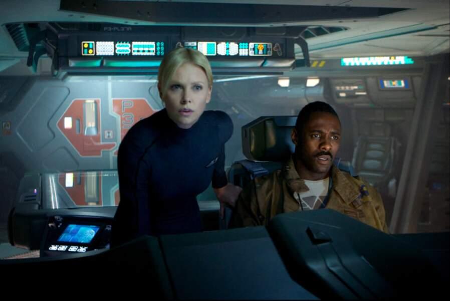 Prometheus (Ridley Scott, 2012) : avec Charlize Theron