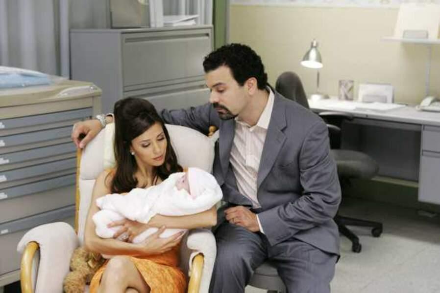 Desperate Housewives - Gabrielle, Carlos et le bébé